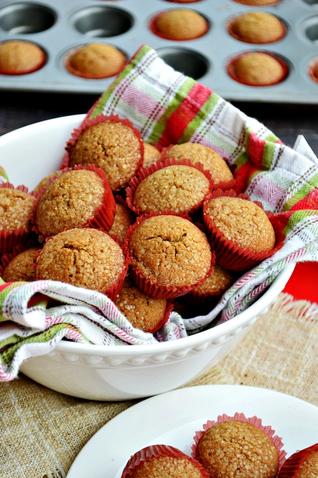 Welcome the holidays with these healthy and totally tasty Gluten Free Vegan Gingerbread Muffins. Run, run, RUN as fast as you can because these little muffins will be gone before you know it.