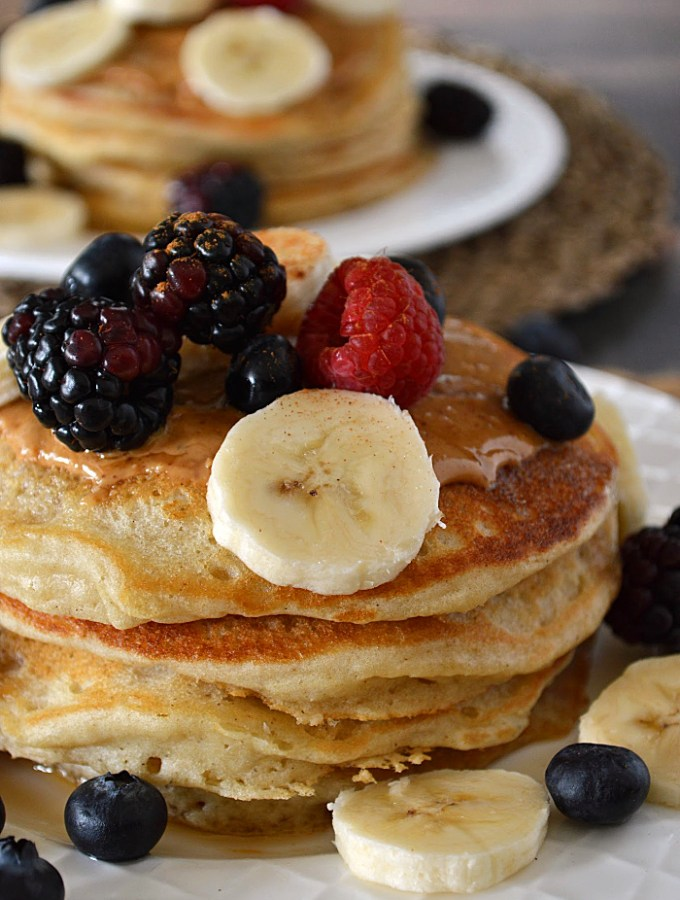 So you think you've had the Very Best Gluten Free Pancakes??? Sorry, you may have to reevaluate. These fluffy, flavorful pancakes really are the best!