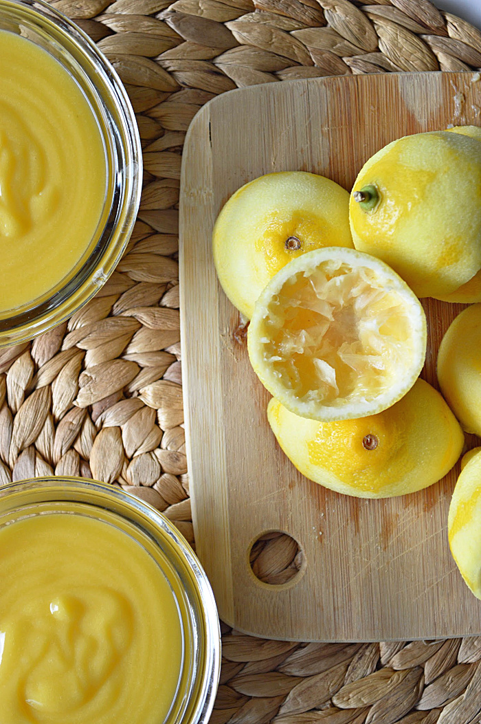 There are endless possibilities with this sweet, tart Homemade Lemon Curd. You'll be wondering why it took you this long to make this stuff!