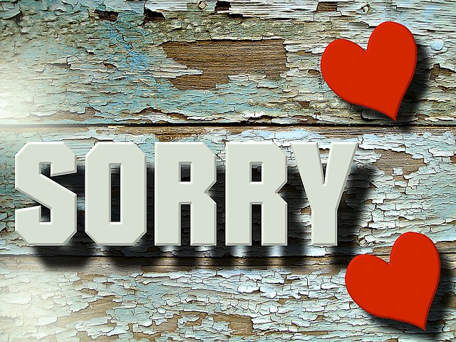 unless you apologize to your spouse, the resentment felt can turn into a relationship destroyer