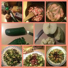 Stap voor stap een heerlijke salade!
