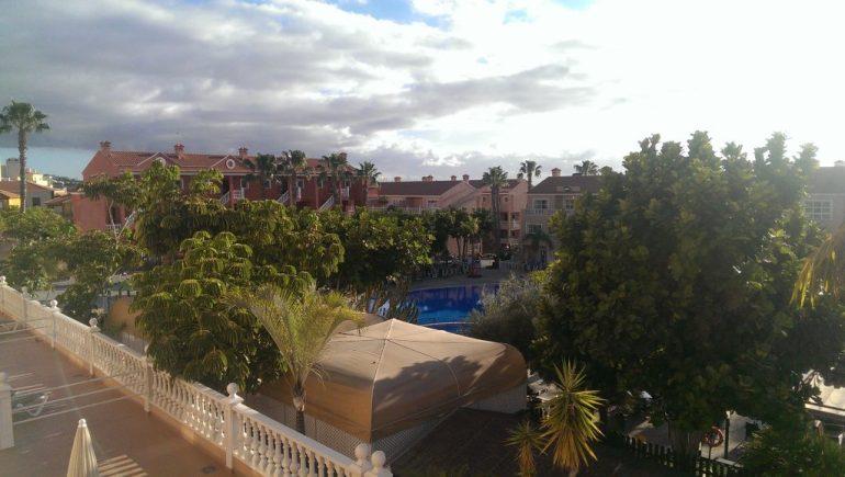 Uizicht vanaf ons balkon, niet slecht toch?