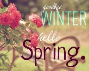 Hello spring!!