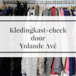 Kledingkast-check door Yolande Avé
