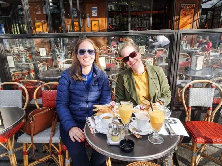 Ontbijt Odessa Montparnasse Parijs