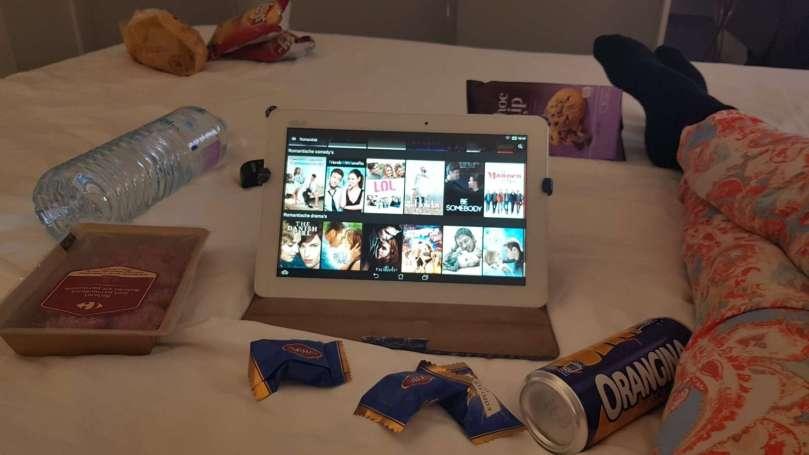 Netflix in bed bregblogt.nl