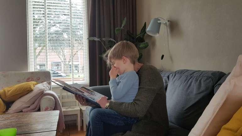 Laurens oma boek lezen bregblogt.nl