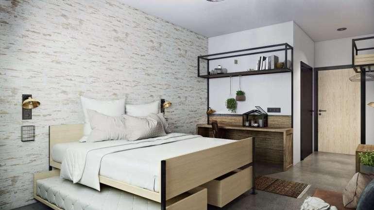 Guesthouse hotel Kaatsheuvel 4 persoonsbed BunkHouseroom bregblogt.nl
