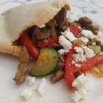 Recept: goedgevuld broodje shoarma met groenten