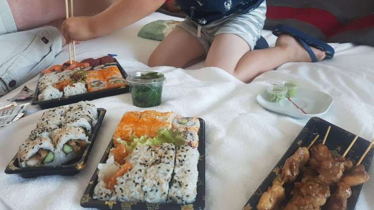 Sushi in Worldhotel Wings Rotterdam bregblogt.nl