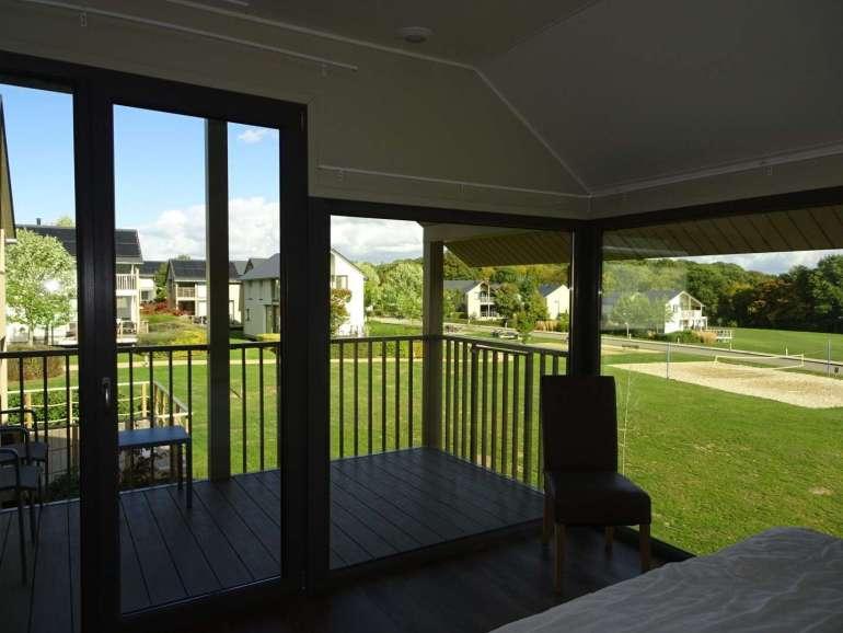 Golden Lakes Village uitzicht grote slaapkamer bregblogt.nl