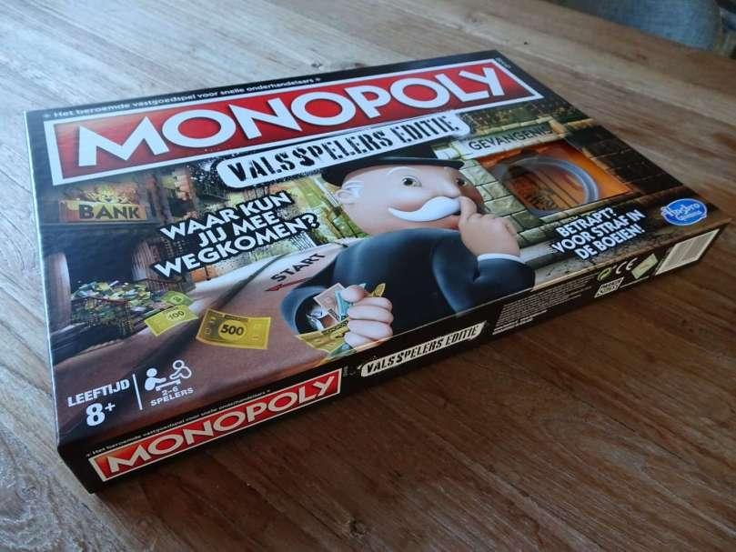 Monopoly Valsspelers editie Hasbro bregblogt.nl