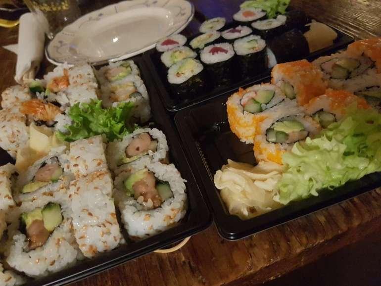 Weekoverzicht sushi bregblogt.nl