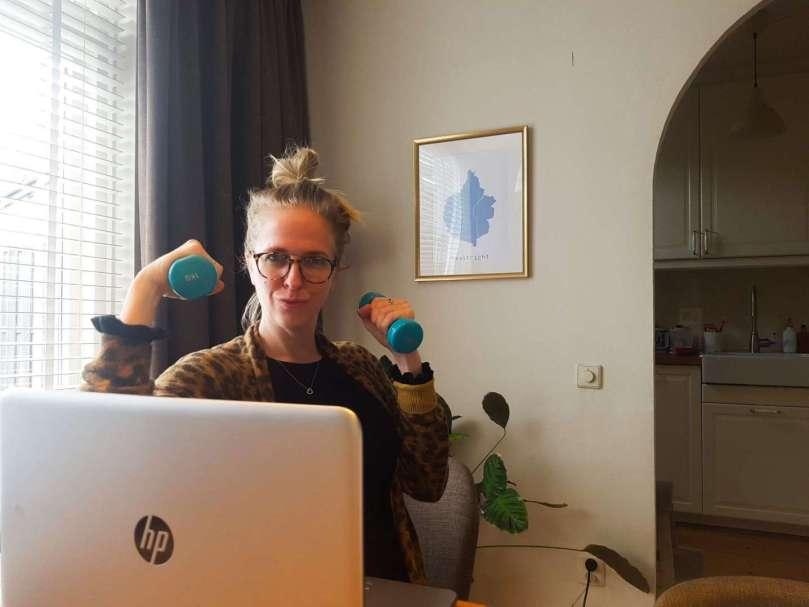Hoe blijf ik in beweging thuiswerken bregblogt.nl