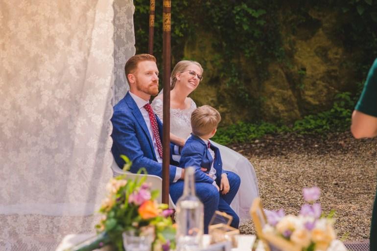 Ceremonie bruiloft geheime tuin Landgoed Heerdeberg Zuid Limburg bregblogt.nl