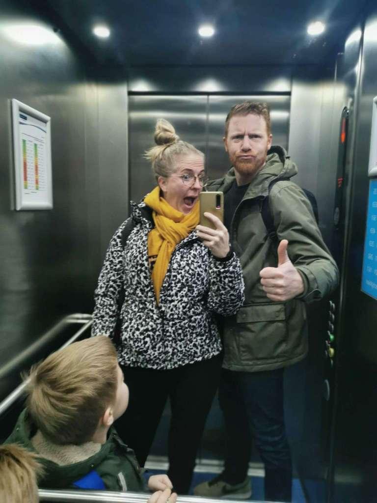 liftselfie familie pieters bregblogt.nl