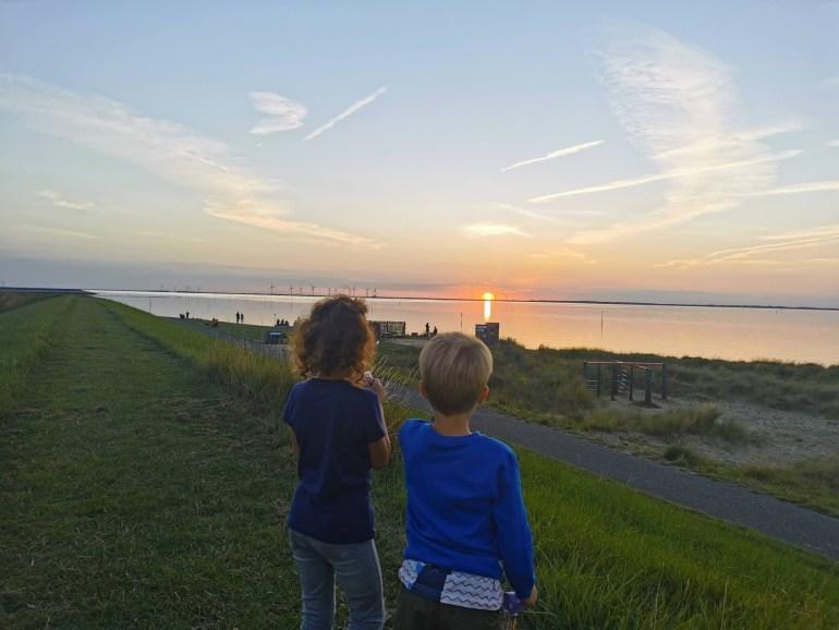 Zonsondergang bregblogt.nl