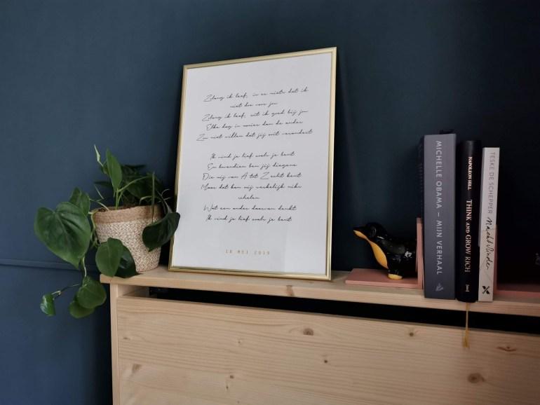 Slaapkamer-make-over-details-accessoires-blauw-goud-bregblogt.nl_ verf je muren inspiratie tips bregblogt.nl
