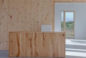 Cross Laminated Timber Wall