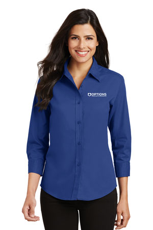 P.A.Ladies 3/4‐Sleeve Shirt