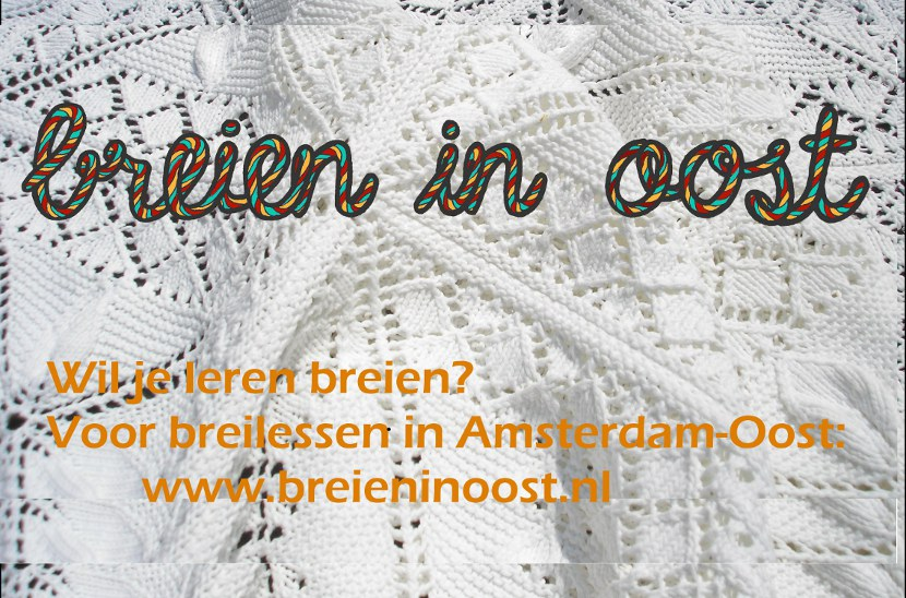 flyer breien in oost