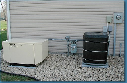 Emergency Generators And Backup Generator Power Installation And