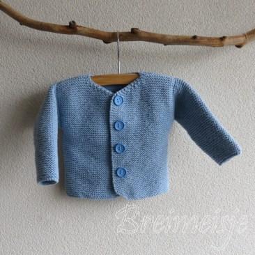 Babyjasje breien patroon baby 3 maanden