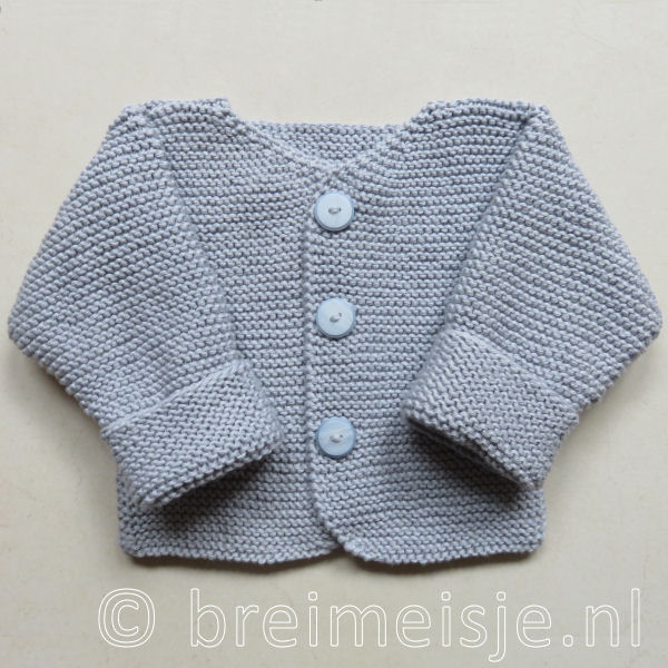 Patroon Babyjasje Babyvestje Breien Breimeisjenl