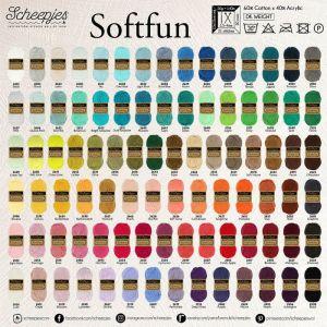 Scheepjes Softfun kleuren