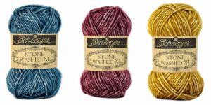 Scheepjes Stone Washed XL is er in 23 kleuren