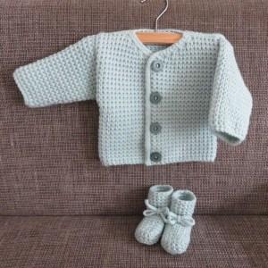 Babysokjes breien baby 3 maanden