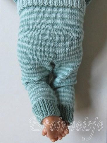 Babybroekje breien patroon