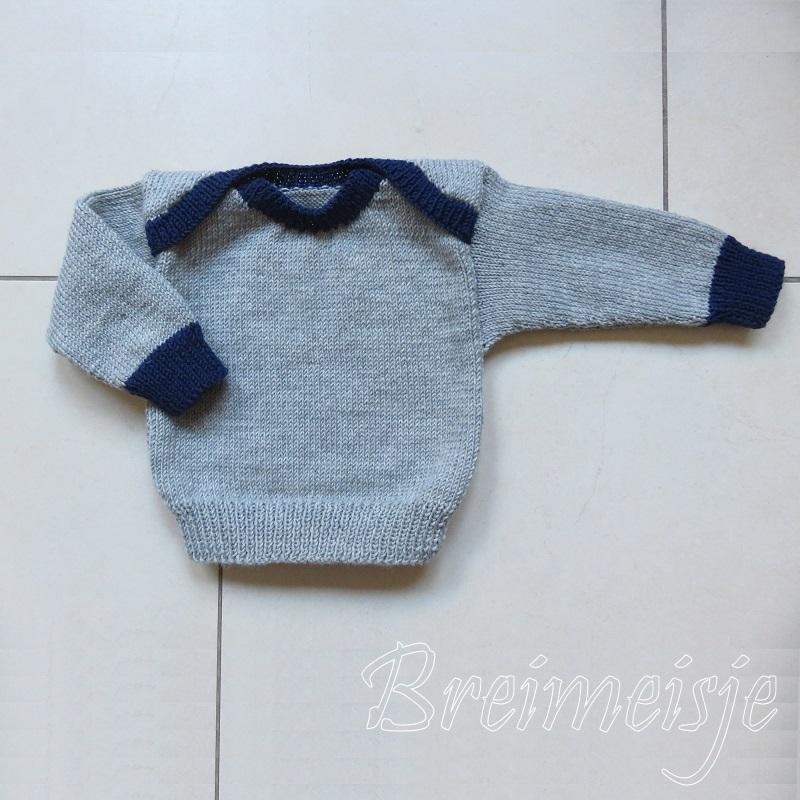 Babytruitje Breien Maat 62 68 Een Uniek Patroon Van Breimeisje