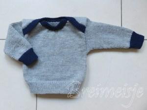 Babytruitje breien patroon