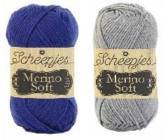 Scheepjes Merino Soft blauw grijs