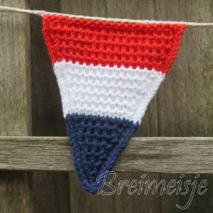 Nederlandse vlag patroon