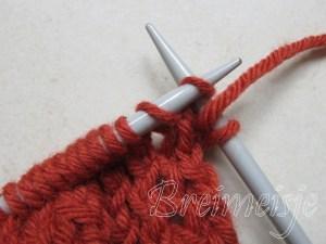Sjaal breien eenvoudig patroon