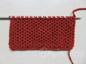 Sjaal breien voor beginners een eenvoudig patroon