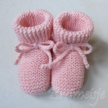 Babysokjes breien patroon baby 6 maanden
