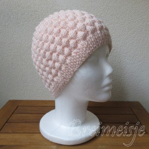 Bubble Wrap Stitch hat