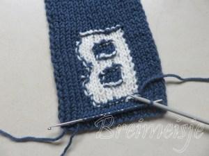Sjaal breien