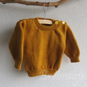 Babytruitje breien patroon baby 6 maanden