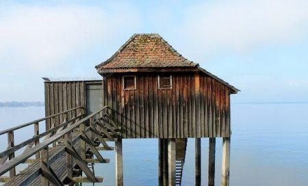 Haus auf dem Bodensee