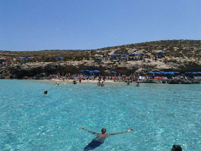 Strand bei Malta