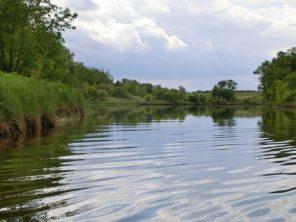 Whitemouth River in Kanada
