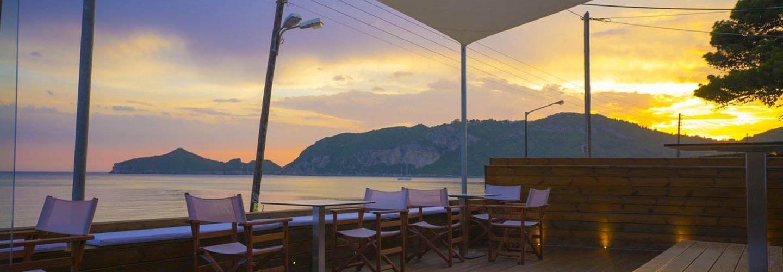Vistonia Beach Lounge - in Agios Georgios Pagi auf Korfu Titel