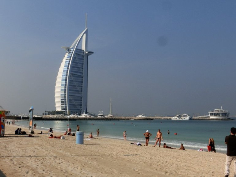 Dubai als Urlaubsziel für Badeurlaub - Urlaub im November