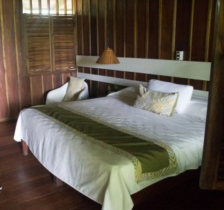Costa Rica - Tortuguero Nationalpark - Mawamba Lodge Zimmer