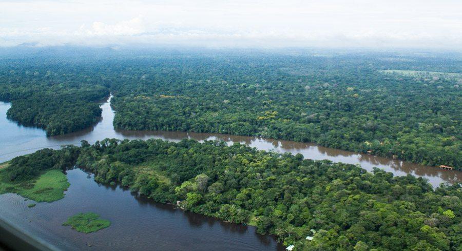 Costa Rica - Tortuguero Nationalpark - von oben