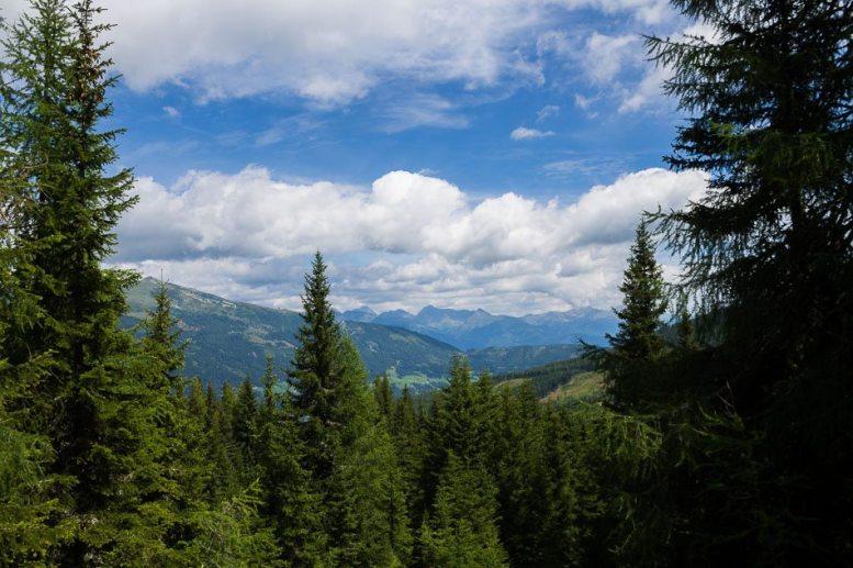 Bergpanaorama am Katschberg - Familienurlaub Österreich